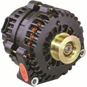 """Powermasters 58302 Alternator 220 Amps Offset 2"""" Pulley Serpentine For Chevy GMC"""