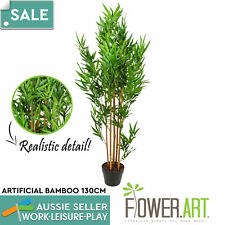Artificial Potted Bamboo Tree Fake Plant Home Realistic Decor 130cm Pick up