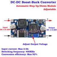 DC-DC 3V 5V 6V 9V 12V 15V 24V Voltage Regulator Boost Buck Step Up Down Module