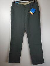 New Men's Columbia 30x32 Roc II Pants Green Outdoors Hiking Fishing Climbing