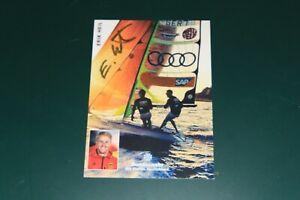 1 Autogrammkarte Eric Heil Segeln