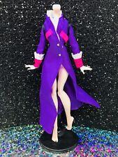 Monster High Headless Headmistress Bloodgood Replacement Coat Jacket Long Purple