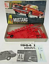 rare Aurora #540-49 1964 MUSTANG CONVERTIBLE model kit 1:32  mint