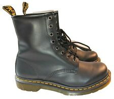 NEW- Dr. Martens 1460W Leather Lace Up Combat BOOTS Women's Size 10 M MSRP $150