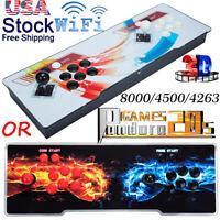 Pandora Box 8000/4500/4263 In 1 Retro Video Games Double Stick Arcade Console US