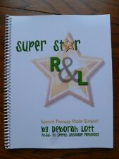 Super Star R & L : Speech Therapy Made Simple NEW