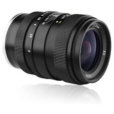Oshiro 35mm f/2 Full Frame Lens for Sony FE SEL NEX E Mount Digital Cameras