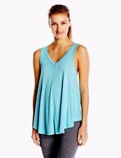 Calvin Klein Performance Icy Wash Tank Top Color Sea Blue Size X-Large