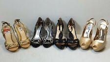 Heels Lot x4 Guess + Carlos + AlexMarie + Joey Women's 8