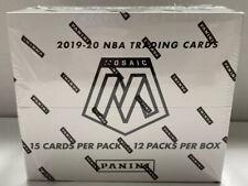 2019-20 Panini Mosaic Nba Basketball Factory Sealed Cello Box 12 Packs � 🔥Zion
