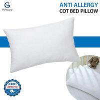 Anti Allergy Cot Pillow Baby Toddler Nursery Extra Soft Pillows 40 cm X 60 cm