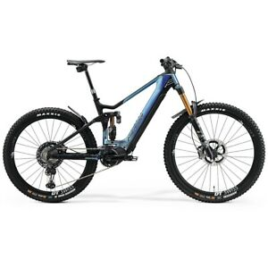 Eone-Sixty 10K 29/27.5 6 5/16in 12s 630Wh Shimano EP8 Black/Blue 2021 Size 50