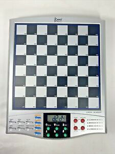 Ryo Chess Academy Electronic Talking Chess Game Board 2004 Working