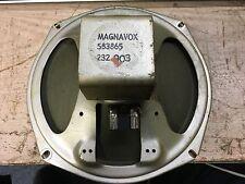 """VINTAGE MAGNAVOX 8"""" ALNICO SPEAKER"""