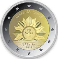 Lettonia   2€ 2019  Stemma  FDC