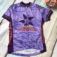 Women's Canari SMALL Cycling Biking Jersey Lilikoi Wheat Ale Kona Brewing Top