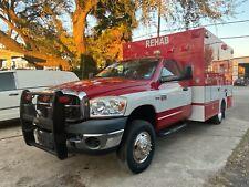 2009 Dodge Ram 3500 5.7L Gas Frazer Ambulance