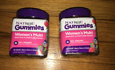 2 NEW Bottles Womens Multi Gummies Natrol 90 count. 85%  Organic Total 180