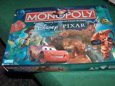 Monopoly Disney Pixar edition game Complete 6 Disney Pixar-themed Tokens! 11/12