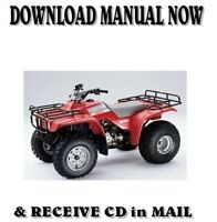 Honda TRX300 Shaft Drives HAYNES Repair Manual 88-00