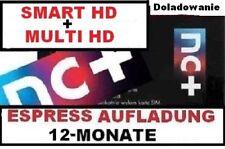 TNK SMART HD + Multi + 12 m-ceTELEWIZJA NA KARTĘ,DOŁADOWANIE AUFLADUNG