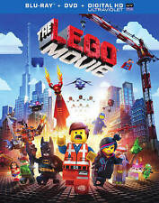 The LEGO Movie (Blu-ray + DVD + UltraViolet Combo Pack), New DVDs