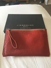 Liebeskind Berlin Kiwi Orange Leather Wallet/purse - Brand New In Box