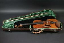 Geige geschnitzter Löwenkopf Karl August Otto (1801-1883) mit Bogen (DE533)