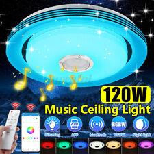 DIMMBAR 120W 108LED Deckenlampe Deckenleuchte bluetooth Lautsprecher APP+Remote