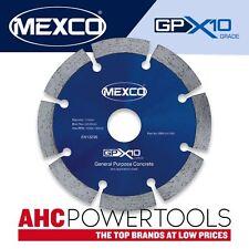 Mexco GPX10 115mm (4.5 pulgadas) de propósito general de hormigón Hoja de Diamante Disco