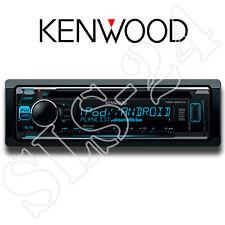 Kenwood KDC-300UV Radio USB CD-Receiver blaues Display iPhone 5 6 iPod Steuerung