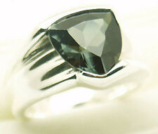 Nice Lab Created Spinel Silver Ring #78 S 7.5