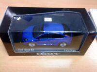 ford focus rs in blue minichamps ltd edition model car