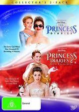 THE PRINCESS DIARIES, THE PRINCESS DIARIES 2-Walt Disney Movie- R4-New Sealed