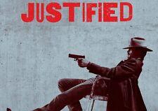 Justificado 4 A3 Promo Poster T349