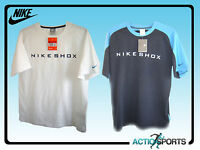 NIKE SHOX Men's T-Shirt in DARK BLUE/LIGHT BLUE or WHITE in Small to XL