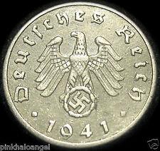 Germany  German Third Reich 1941F 5 Reichspfennig Coin WORLD WAR II