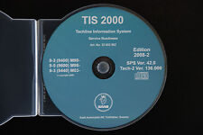 SAAB TIS 2000 CD Tech 2 Diagnostic Software WIS TIS2000 2008