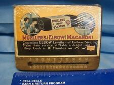 Muellers Elbow Macaroni Themometer Plaque Retro Kitchen USA Made NOS