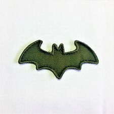 Batman - Olive hoop and loop morale patch Airsoft Tactical Military Badge burr