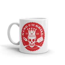 BBQ King of the Grill Mug - Great Gift for Dad Brother Uncle Chef Cook #5449