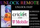 UNLOCK OR FRP LG Stylo 6 BOOST METRO CRICKET 2021 security supported