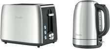 Breville LKT640BSS Kettle and Toaster Pack