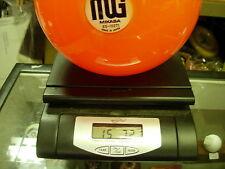 15# 7oz NOS NIB Mikasa MG Acrylic Orange Bowling Ball