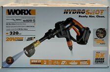 WORX WG629.2 2X20V HYDROSHOT PORTABLE POWER CLEANER NEW IN PACKAGE