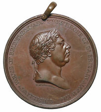 1814 British Ireland George III Centennial House Of Brunswick AE Medal T. Wyon