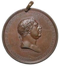 1814 British Ireland George III Centennial House Of Brunswick AE Medal T. Wyon