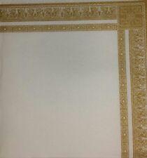 4 x singolo di carta Tovaglioli Indiano Batik GOLD FRAME-DECOUPAGE e fai da te - 23