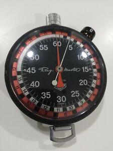 CRONOMETRO HEUER RING MASTER STOPWATCH STOPPUHR CHRONOMETER TIMER