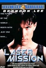 Laser Mission ~ Brandon Lee, Ernest Borgnine ~ DVD ~ New and Sealed